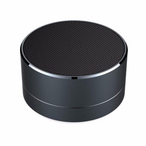 Black Aluminium Wireless Bluetooth Speaker