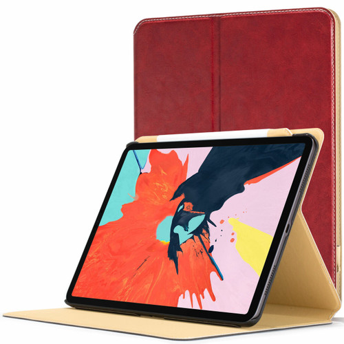 Apple iPad Pro 11 inch 2018 Case red Magnetic Protective Smart Case Cover Stand