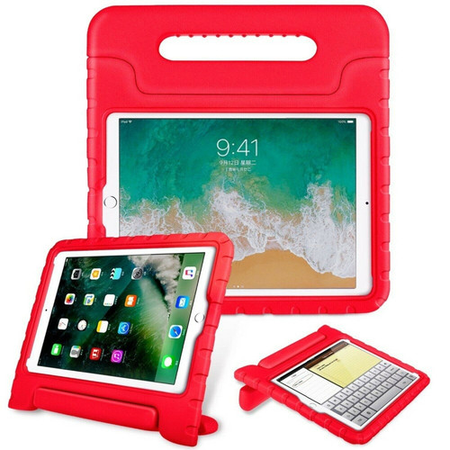 Red Tough Kids shockproof EVA Foam Stand case  cover for Apple iPad  pro 11 2018