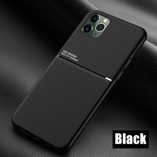 Apple iPhone  11 black Matte Shockproof Case