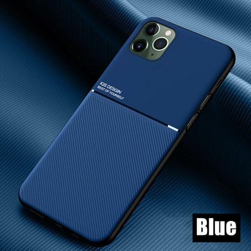 Apple iPhone  11 blue Matte Shockproof Case