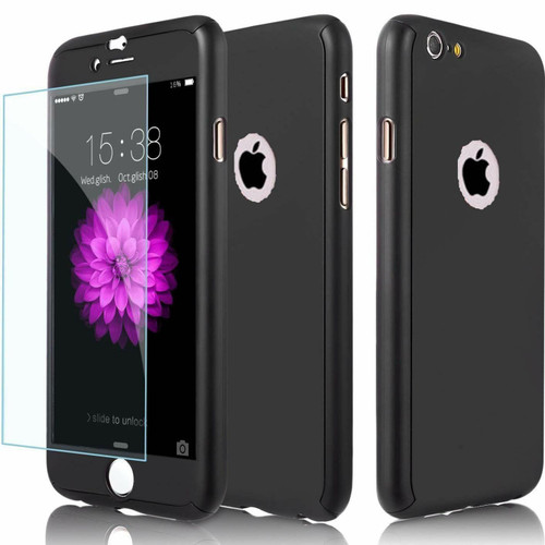 Black Shockproof 360 Full Body Cover Protective for Apple iPhone  11