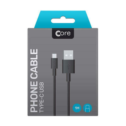Samsung S8 S8 Plus S9 S10 S10+ Type C USB Fast Charge Genuine cable lead by Core