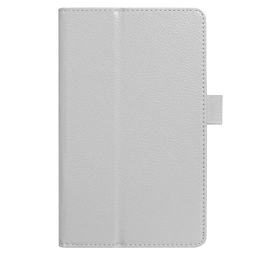 Amazon kindle Fire HD 8(2018) white Flip Magnetic Smart Leather Stand Case Cover