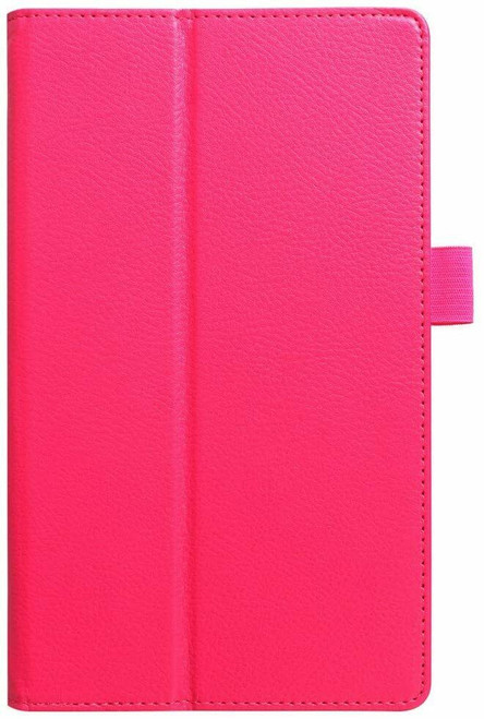 Amazon kindle Fire HD 8(2018) pink Flip Magnetic Smart Leather Stand Case Cover