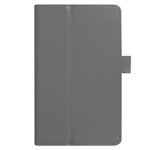 Amazon kindle Fire HD 8(2018) grey Flip Magnetic Smart Leather Stand Case Cover