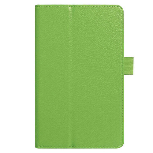 Amazon kindle Fire HD 8(2018) green Flip Magnetic Smart Leather Stand Case Cover