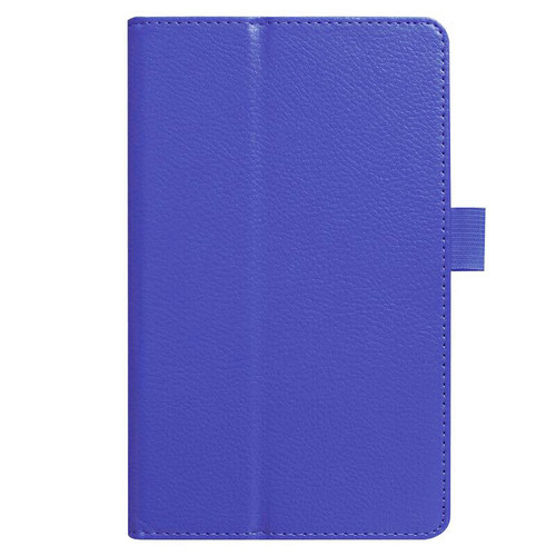 Amazon kindle Fire HD 8(2018) blue Flip Magnetic Smart Leather Stand Case Cover