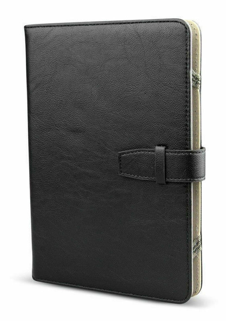 For 2017 2018 Amazon Kindle Fire 7 HD 8 PU Leather Case Cover Stand Black