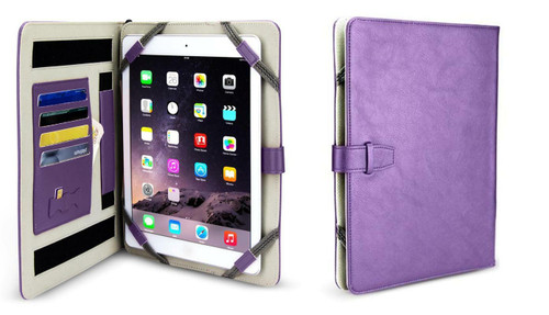 Universal Folio PU Case Cover Stand For 7- 8 Android Apple Tablet PC