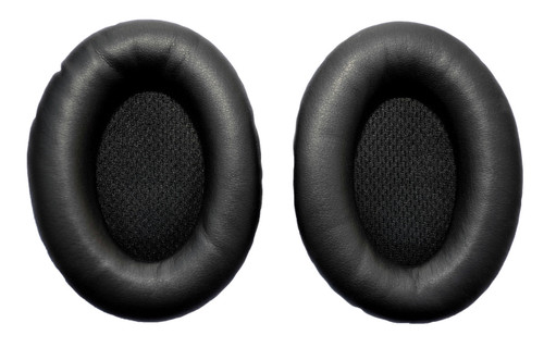 Black Leather Replacement Ear Pad Kit