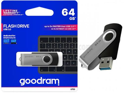 GOODRAM UTS3 Twister 64GB USB 3.0 Flash Drive