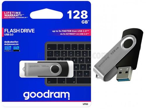 GOODRAM UTS3 Twister 128GB USB 3.0 Flash Drive
