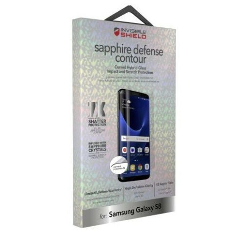 ZAGG InvisibleShield Samsung Galaxy S8 Sapphire Defense Glass Screen Protector