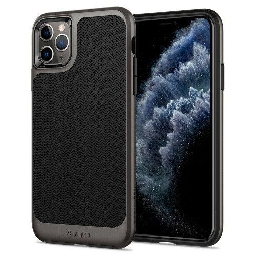 Gunmetal iPhone 11 Pro Case, Spigen Neo Hybrid Shockproof Protective Cover