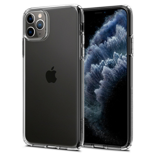 iPhone 11 Pro Case, Spigen Liquid Crystal Flexible Clear Cover - Crystal Clear