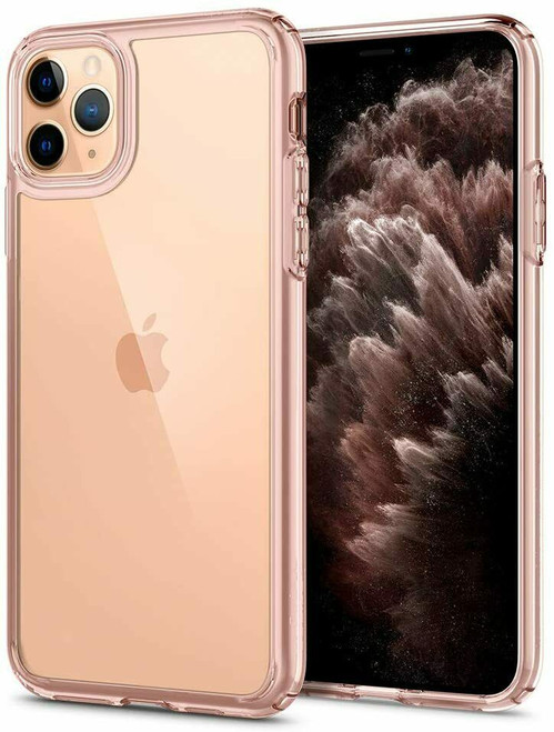 Rose crystal iPhone 11 Pro Max Case Spigen Ultra Hybrid Protective Slim Clear Cover