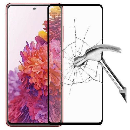 For Samsung Galaxy S21  Tempered Glass Screen Protector Case Friendly