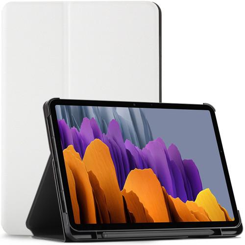 Samsung Galaxy Tab S7 2020 T870 Case Cover White Stand Smart Auto Sleep Wake