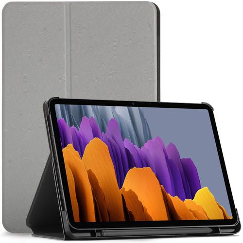 Samsung Galaxy Tab S7 2020 T870 Case Cover grey  Stand Smart Auto Sleep Wake