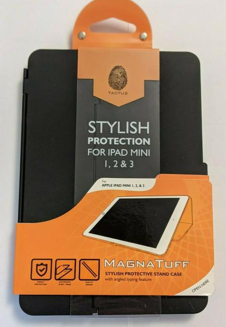 Tactus Buckuva Hard Cover Case for iPad Mini1 Mini2 Mini3 123 Black New Genuine