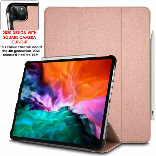 Slim Leather SMART CASE Folio Cover & Stand for Apple iPad Pro 12.9 inch 2020