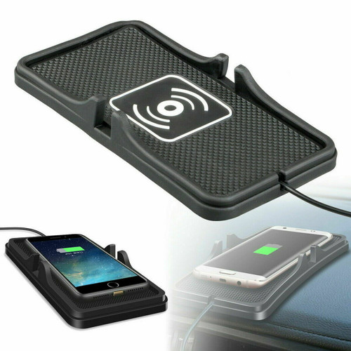 Apple iPhone 11 11pro 11pro max  Qi Wireless Charger Car Pad Mat Phone Holder