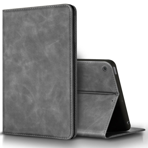 Apple iPad Air 3 10.5''(2019) grey  Suede Leather Case Wallet Cover Stand
