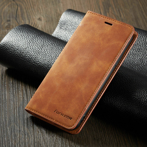 Brown Samsung Galaxy S7 Edge  Ultra Slim Leather Wallet stand Case