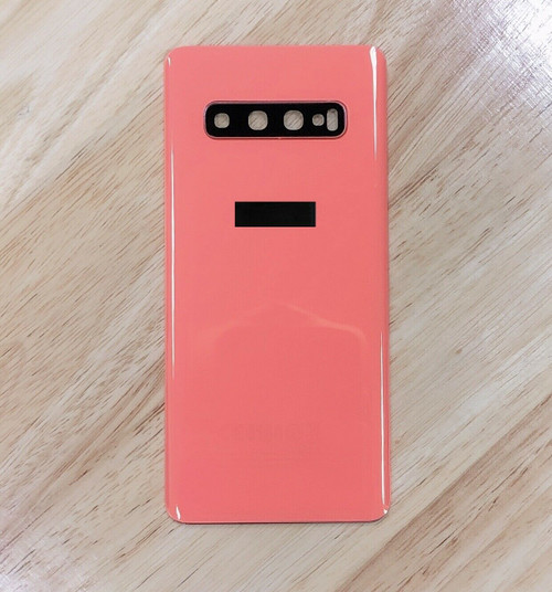 Replacement Samsung Galaxy S10 orange Rear Glass Back Battery Cover