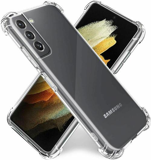 For Samsung Galaxy S21 ultra 5G Clear Shockproof Bumper Gel Case