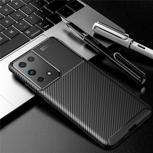 Samsung S21 Ultra Carbon Fibre soft Slim Shockproof Case Cover