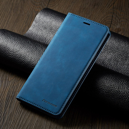 For Samsung S21 ultra  blue Leather Wallet Flip Case Card Stand Shockproof Cover
