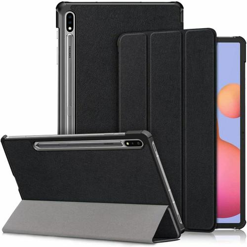 Samsung Galaxy Tab S7 plus 12.4 Case Premium Smart Book Stand Cover T970/T975