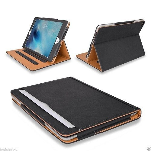 """Leather TAN Smart Stand Case Cover For Apple iPad Air 10.9"""" 2020 4th Gen"""