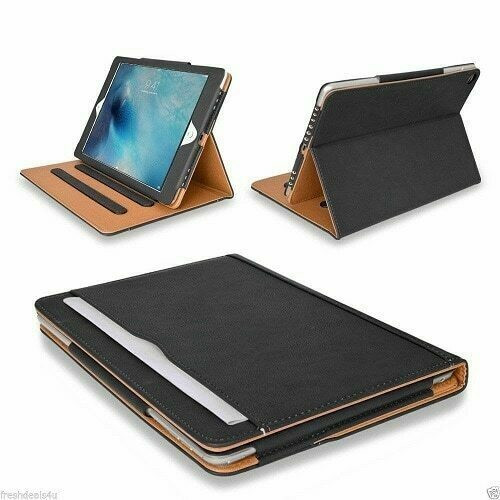 Leather TAN Magnetic Case Cover For Apple iPad 10.5 2019