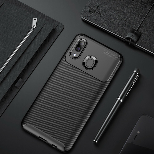 Carbon Fibre Shockproof Cover for Samsung Galaxy A50