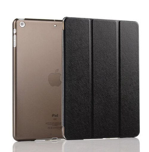 Apple Ipad Mini 123 Black Smart Magnetic Leather Stand Case