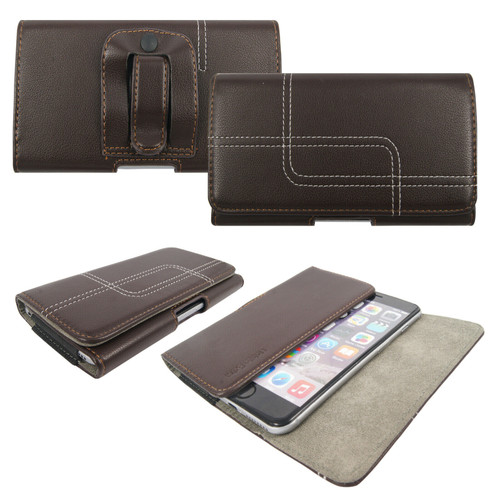 Brown Belt Pouch Clip Hip Loop Case  for note 10 lite