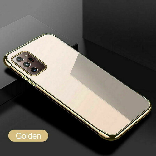 Gold Ultra Armour Shockproof Case Cover for note 20 ultra