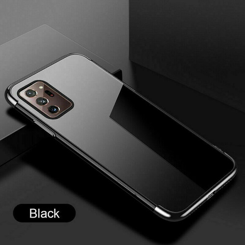 Black Ultra Armour Shockproof Case Cover for note 20