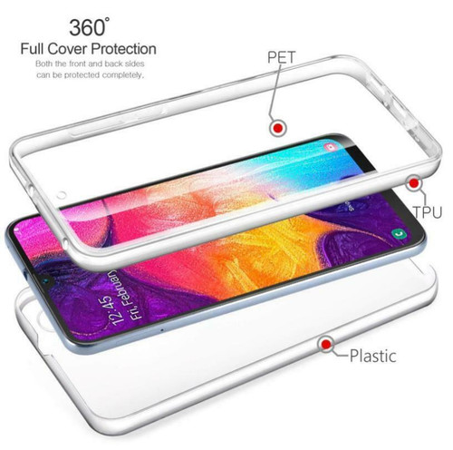 For Samsung A41 2020 Shockproof 360° Silicone Case Cover