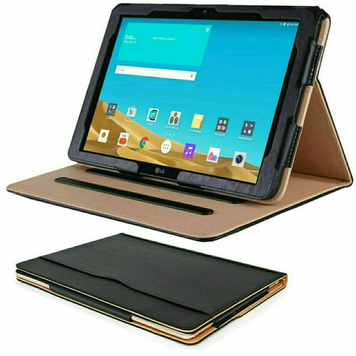 Apple iPad pro 9.7 2017- Leather  wallet  smart flip stand Case Cover