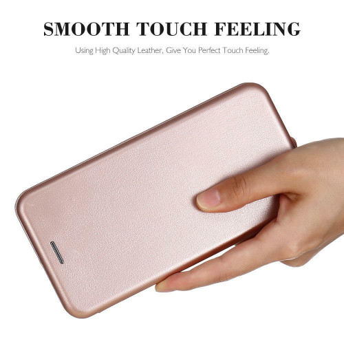 Luxury  rose gold Shockproof Leather Flip Wallet Case  For Apple iPhone  5c