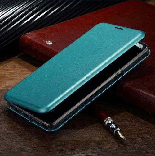 Luxury  blue Shockproof Leather Flip Wallet Case  For Apple iPhone  5c