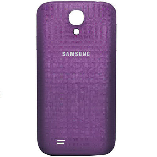 Samsung Galaxy S4 Replacement Housing Battery Back Cover - purple