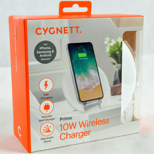 Genuine Cygnett MFi 10W Qi Fast Wireless Charger Stand For iPhone 11 Pro/XR/XS/8