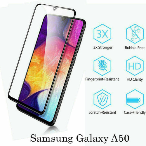 For Samsung A21s 2020 9D Full Cover Tempered Glass Screen Protector