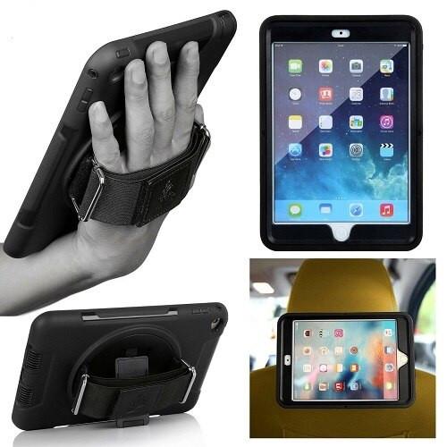 Gorilla Tech Survivor Handstrap Case Protective Shockproof Cover for Apple iPad 10.2 2019