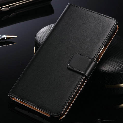 Genuine Real Leather Wallet Case For Various Samsung Galaxy s4